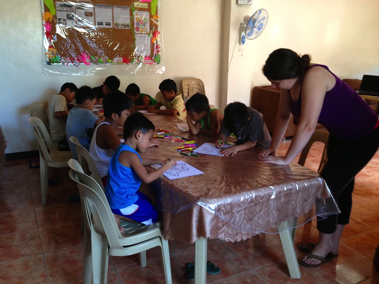 Serving in the Philippines
