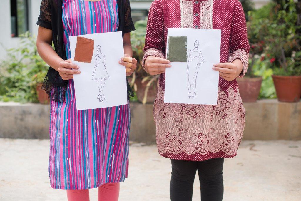 Elegant Fashions Helping Trafficked Girls