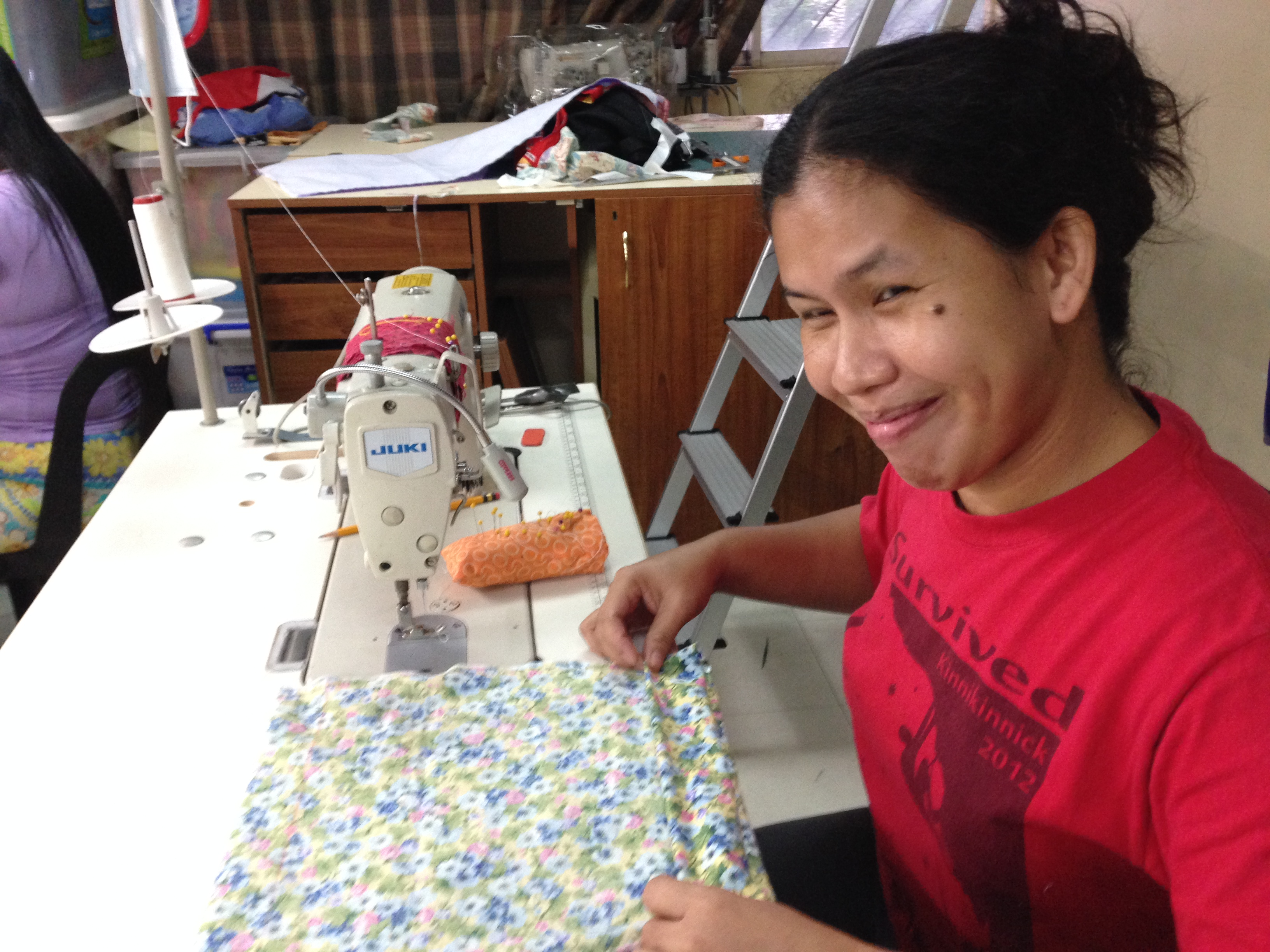 Sowing Hope While Sewing Clothes