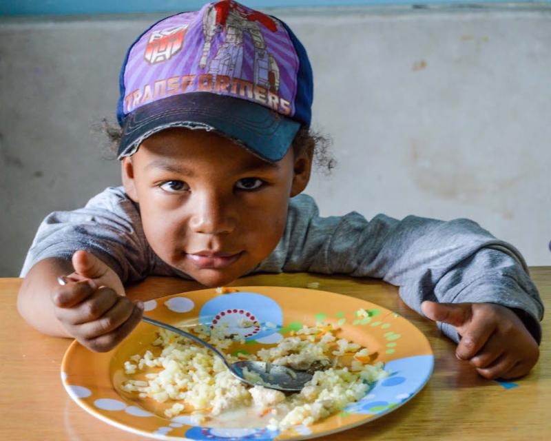 Feed and Educate Quito Kids