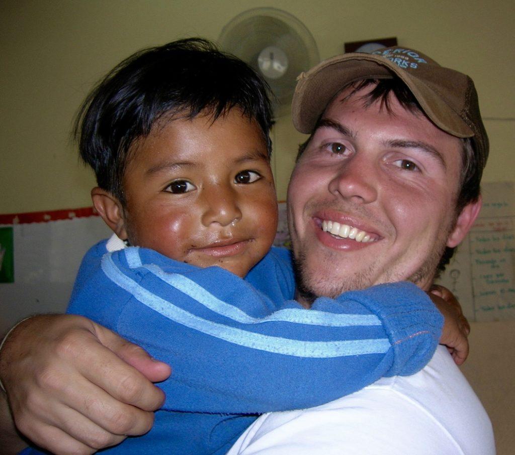 ER volunteer Kenton served with ER in Quito in 2007