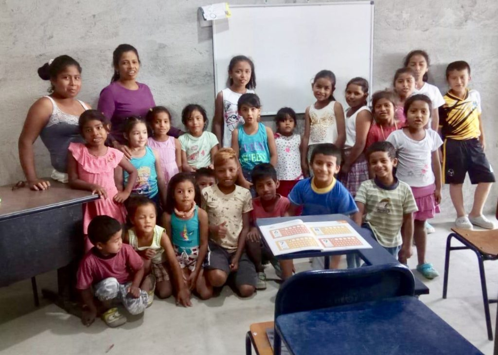 Kids are learning again at the Faith and Hope School