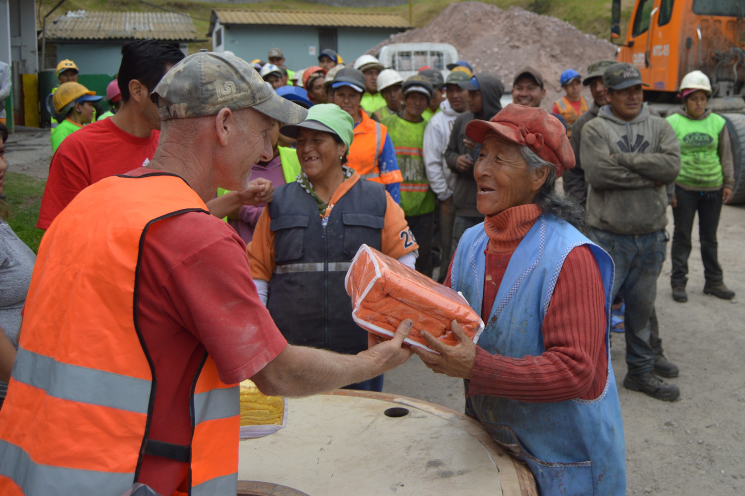 Extreme Response in the Quito Dump