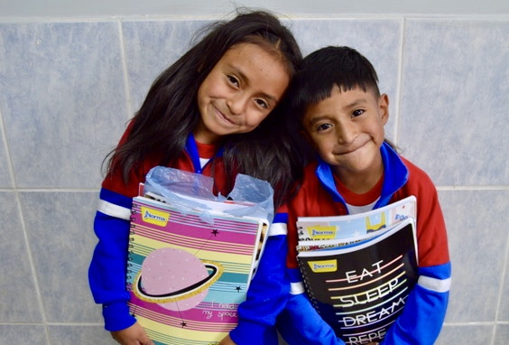 School Packs Boost Quito Kids