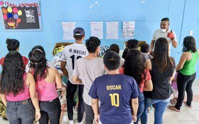 Ecuadorian Orphans Get Emergency Food