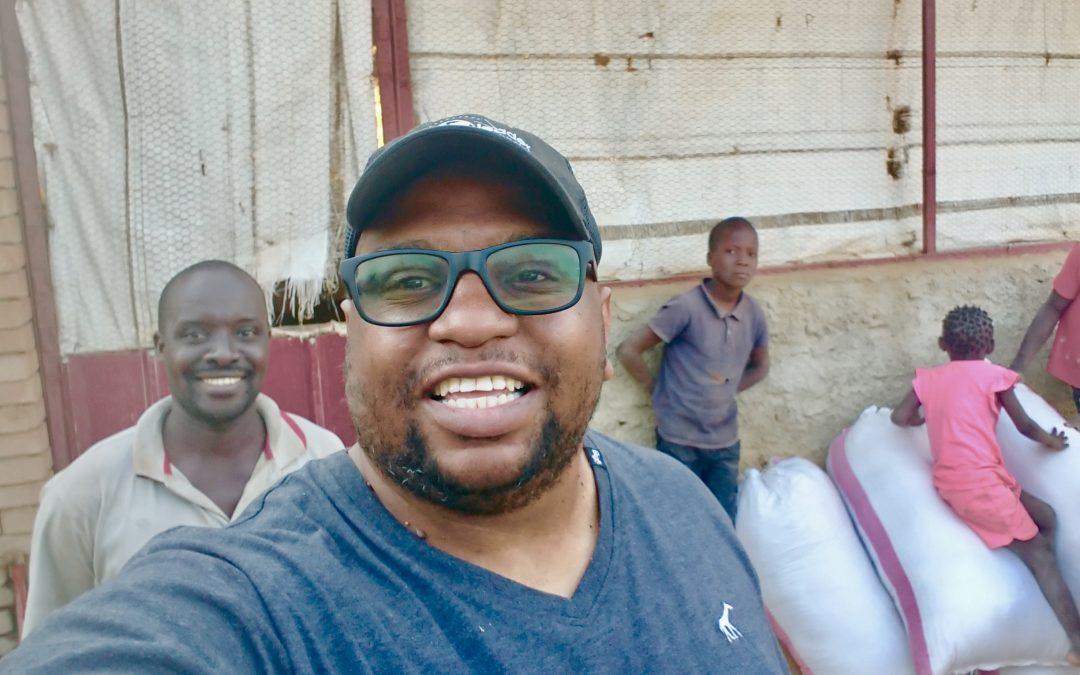 A Broken John Wayne Finds Healing; Rebounds to Feed Kids in Mozambique