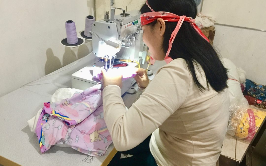 The Edge of Hope: Sewing Face Masks Empowers Mayette