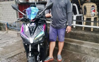 Motorcycle Love: Roldan Pays It Forward
